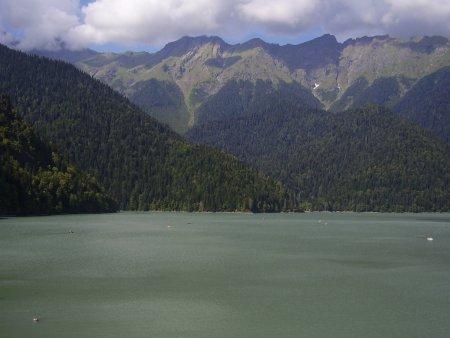 Абхазия. Голубое озеро и озеро Рица — фото 5