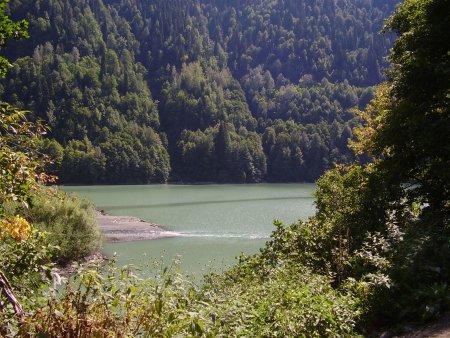 Абхазия. Голубое озеро и озеро Рица — фото 4