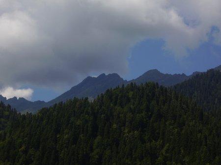 Абхазия. Голубое озеро и озеро Рица — фото 3