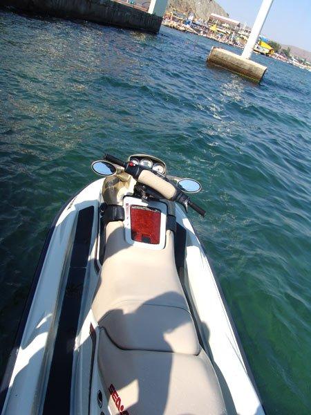 Бегущий по волнам или я, снова я, море и водный мотоцикл — фото 2
