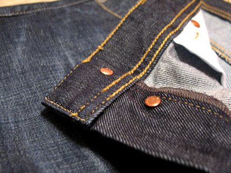 Индиго деним Гант. Рассматриваем джинсы Gant пристально — фото 11