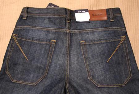 Индиго деним Гант. Рассматриваем джинсы Gant пристально — фото 5