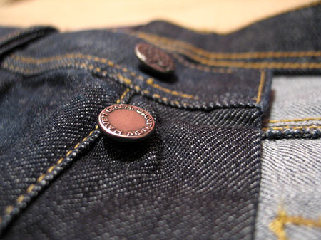 Индиго деним Гант. Рассматриваем джинсы Gant пристально — фото 7