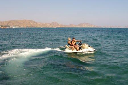Бегущий по волнам или я, снова я, море и водный мотоцикл — фото 8