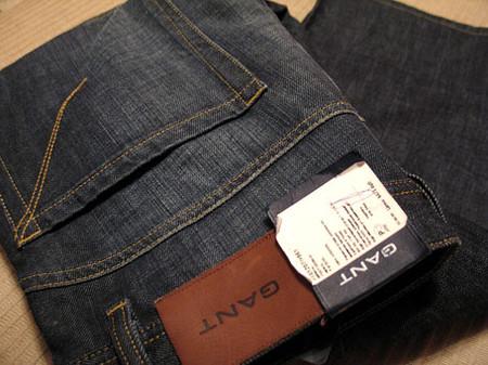 Индиго деним Гант. Рассматриваем джинсы Gant пристально — фото 14